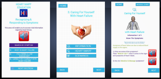 heart App Interface  Image1